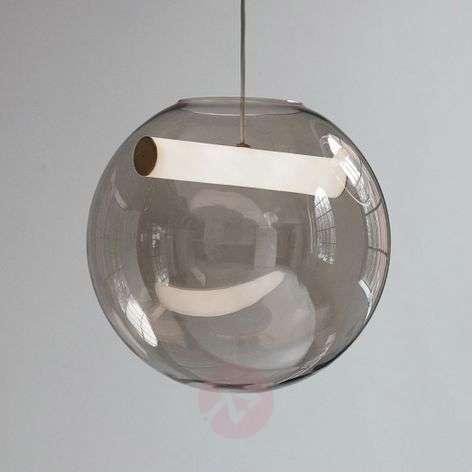 Northern Reveal -riippuvalo suupuhallettua lasia