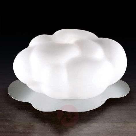 Nuvola - puhallettu lasinen pöytävalaisin