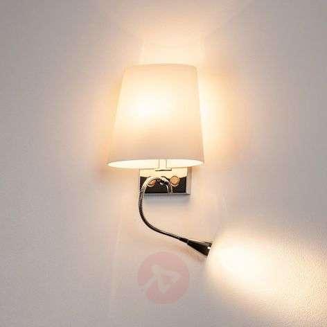 Nykyaikainen COUPA-seinävalaisin LED-lukuvalolla