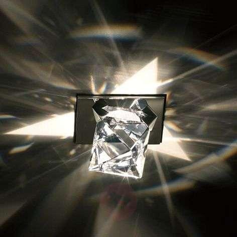 Octa-kattouppovalaisin oktaedrikristallilla