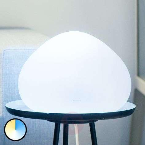 Ohjattava Philips Hue -LED-pöytävalaisin Wellner