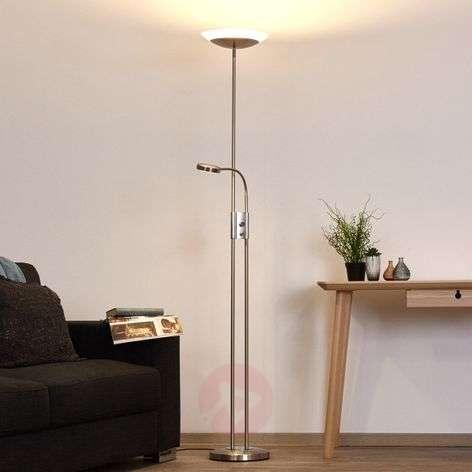 Olivia: himmennettävä LED-lattialamppu lukuvalolla