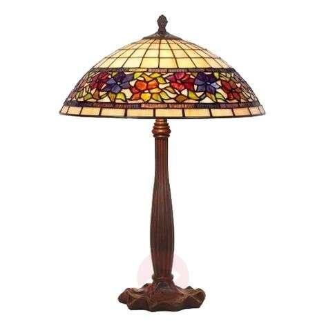 Omaperäinen Tiffany-tyylinen FLORA-pöytävalaisin-1032125-31