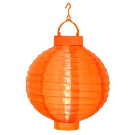Oranssi aurinkokäyttöinen Jerrit-paperilyhty, LED