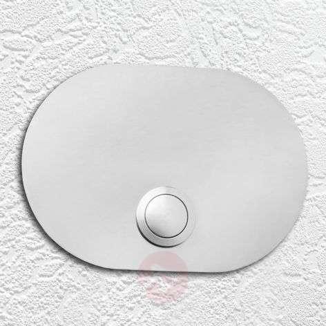 Oval-ovikellolaatta ruostumatonta terästä