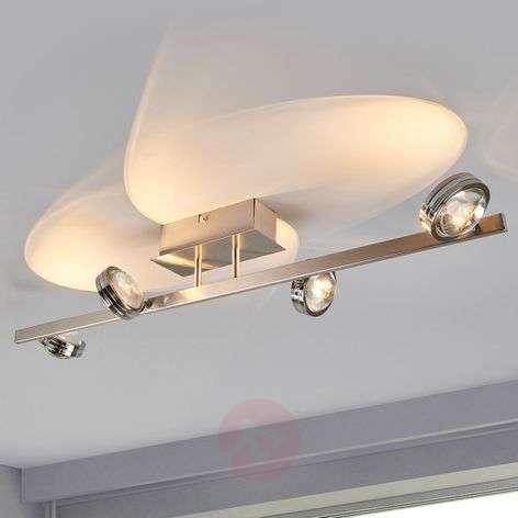 Pablos - 4-osainen LED-kattovalaisin, kromi