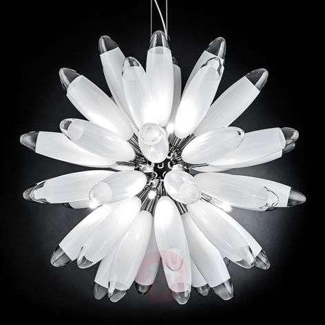 Pallomainen riippuvalaisin Flo, valkoinen
