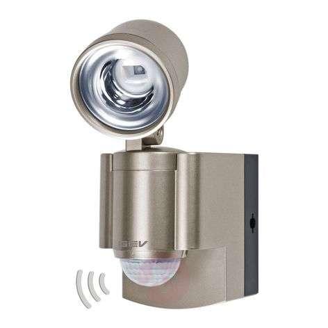 Paristokäyttöinen LED-valaisin LLL 140 liiketunn.