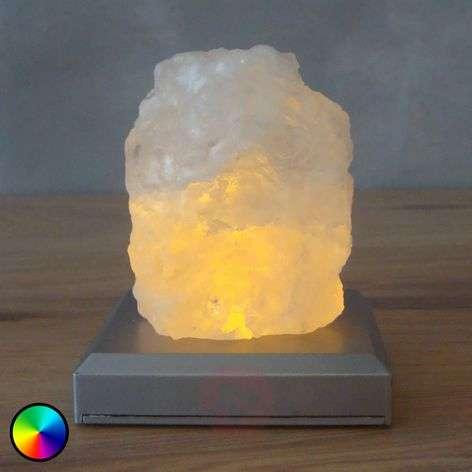 Paristokäyttöinen Salzberg-LED-pöytävalaisin