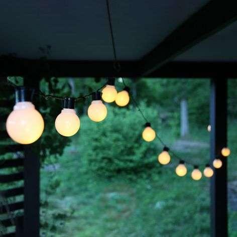 Partaj - 500 cm pitkä valoketju 16 lampulla