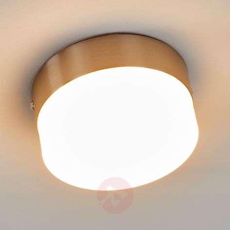 Pelkistetty Nieke-LED-kattovalaisin, matta nikkeli