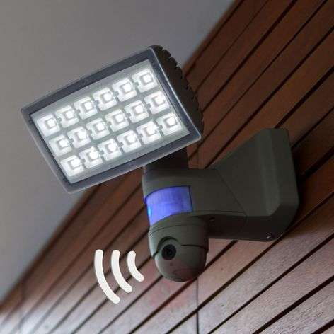 Peri Cam - LED-ulkovalaisin kameralla ja anturilla