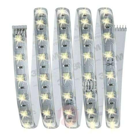 Peruspaketti MaxLED LED-nauha 150cm valk. sääd.