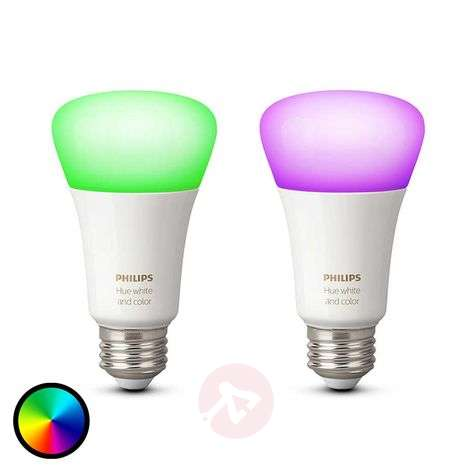 Philips Hue 2 x 10 W E27 White + Color Ambiance