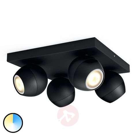 Philips Hue Buckram WhiteAmbiance LED-spotti musta
