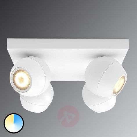 Philips Hue Buckram WhiteAmbiance LED-spotti valk.