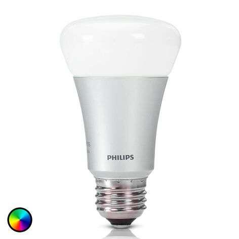 Philips Hue -lisälamppu 1x 10W E27 RGBW