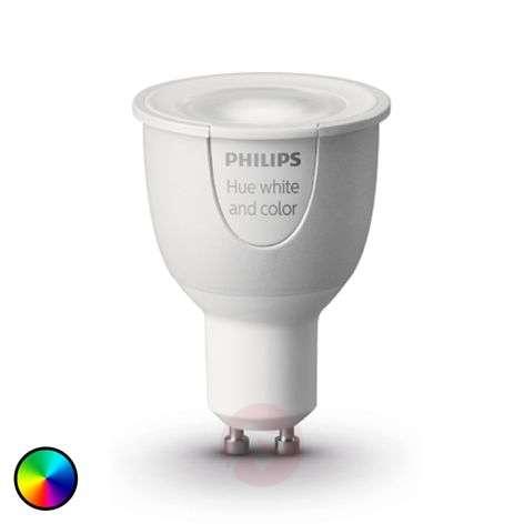 Philips Hue -lisälamppu 1x 6,5W GU10 RGBW