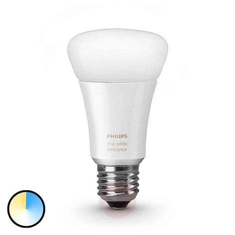 Philips HUE White Ambiance E27 9,5W lisäosa