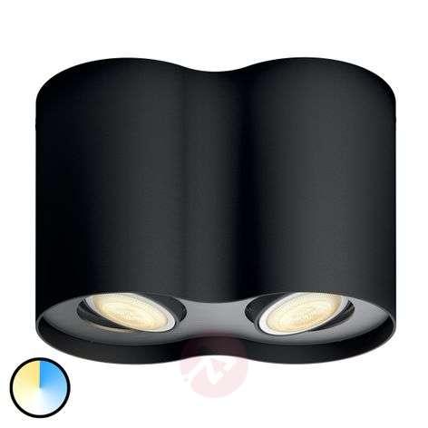Philips Hue White Ambiance Pillar 2-lampp. musta