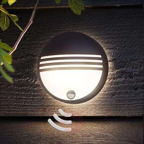 Philips Yarrow-LED-ulkoseinävalaisin tunnistimella