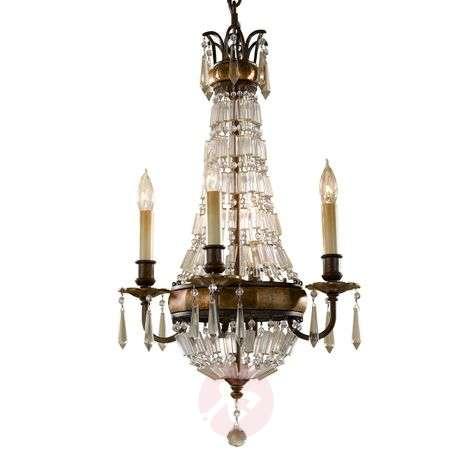 Pieni neljän lampun Bellini-kattokruunu