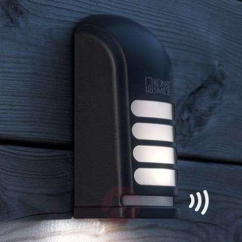 Pinta-asen. LED-seinävalaisin Prato ulos liiketun.