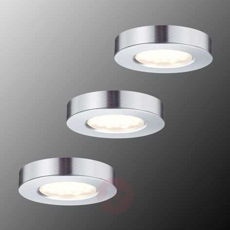 Platy Kalusteiden LED-uppo- ja pintavalaisin 3kpl