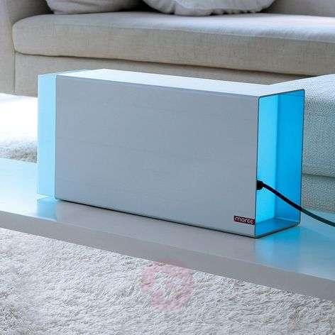 Pöytävalaisin Eraser 380 silver LED