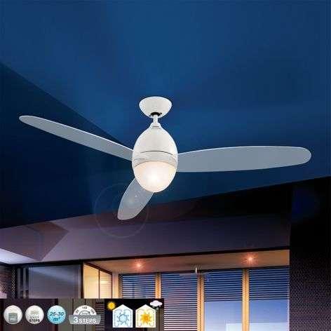 Premier valkoinen kattotuuletin, 132 cm