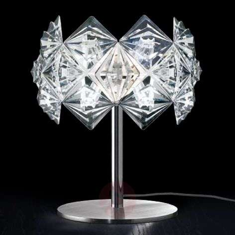 Prisma-pöytävalaisin säihkyvällä varjostimella