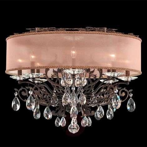 Pronssinvärinen kristalli-kattovalaisin Filigrae