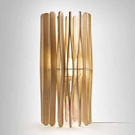 Puinen design-pöytävalaisin Stick