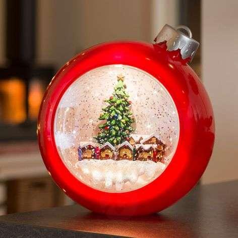 Pun. LED joulukuusen pallo joulumark. vesitäyt.-5524863-31
