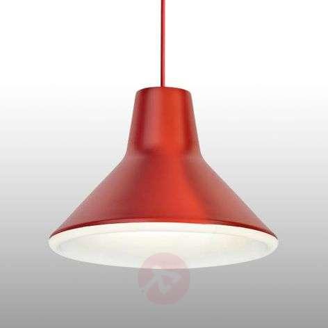 Punainen Archetype-design-riippuvalaisin, LED