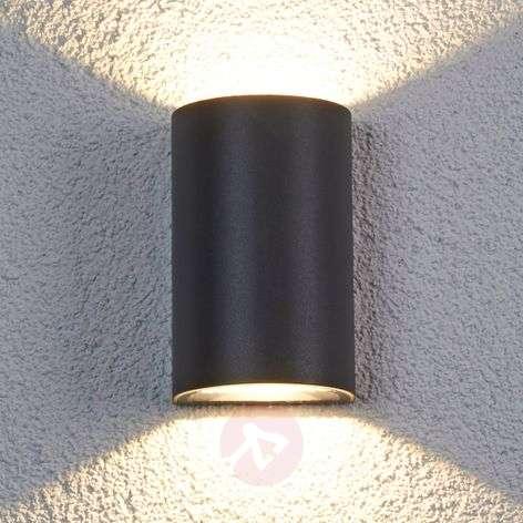 Puoliympyrä LED-ulkoseinävalaisin Jale, 2 x 6 W