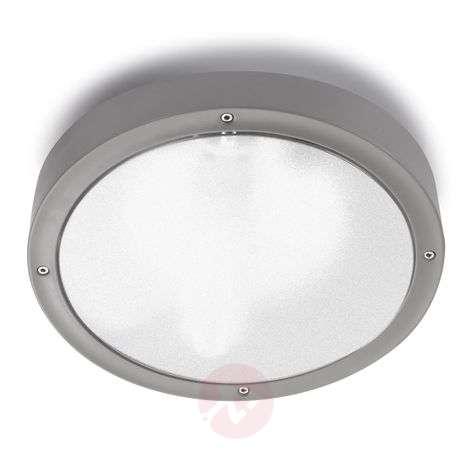 Pyöreä Basic-ulkoseinävalaisin Ø 2 cm