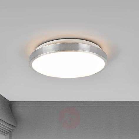 Pyöreä Jasmin-LED-kattovalaisin alumiinikehyksellä