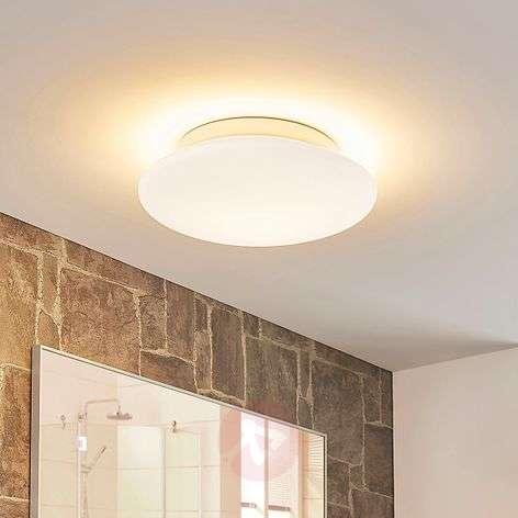 Pyöreä lasi-LED-kattovalaisin Toan IP44
