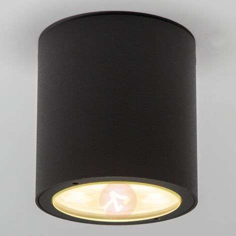 Pyöreä LED-kattospotti Meret ulkokäyttöön, IP54