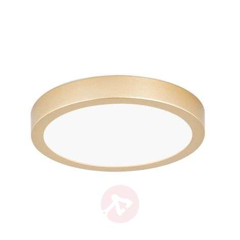 Pyöreä LED-kattovalaisin Vika, matta kulta-7255272X-31