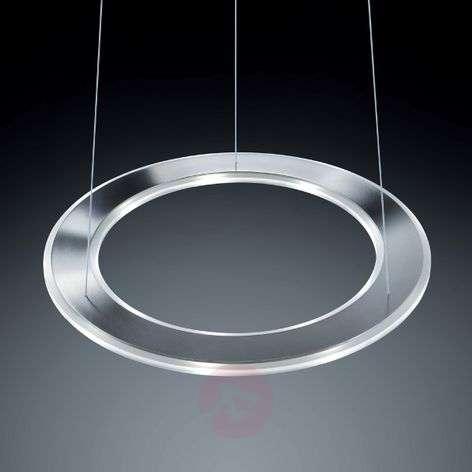 Pyöreä LED-riippuvalaisin Sima, ruostumaton teräs