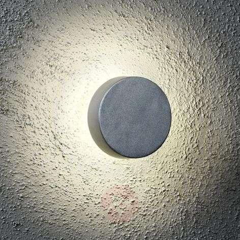 Pyöreä LED-ulkoseinävalaisin New Pesaro