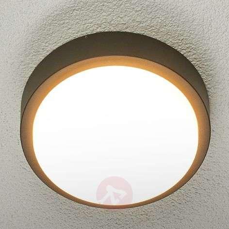Pyöreä Maxine-LED-ulkokattolamppu