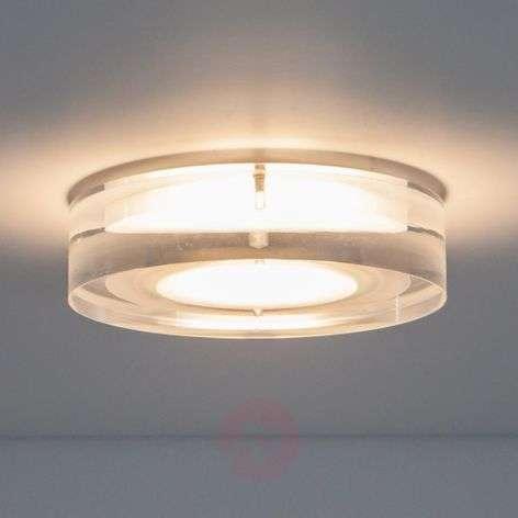 Pyöreä, upotettava Sara LED-valaisin, akryyliä