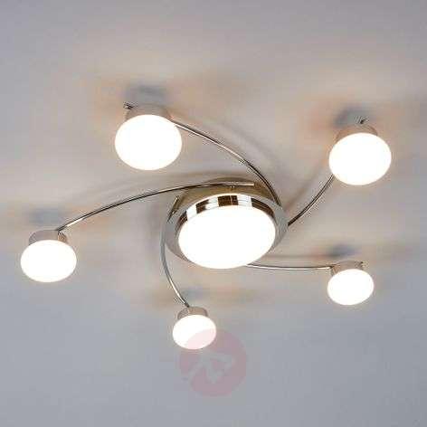 Pyöreä Vitus-LED-kattovalaisin, 6-osainen-9994100-32