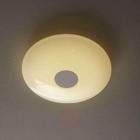 Pyöreä Voltago-C-LED-kattovalaisin, ohjattava