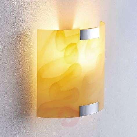 Quentin – LED-seinävalo, ambranvärinen