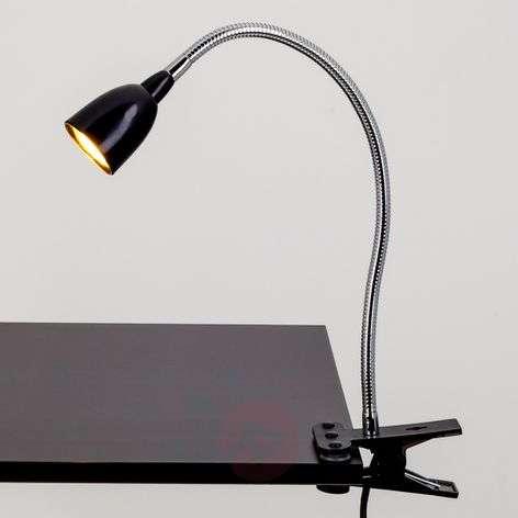 Rabea - musta LED-työpöytävalaisin