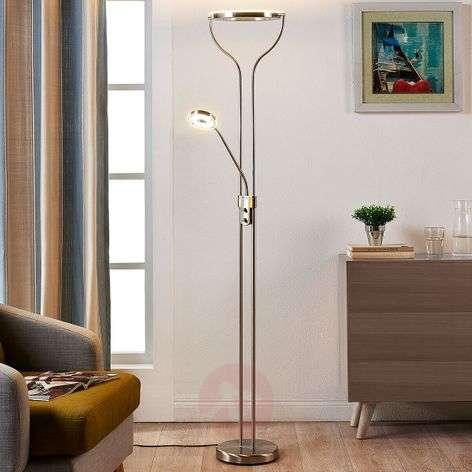 Rengasmainen LED-lattiavalaisin Lana, lukuvalolla-9621135-32